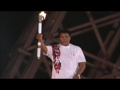 Gold Medal Moments: Muhammad Ali @ Atlanta 1996 Games  Ceremony