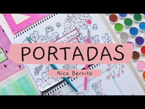 Carátulas Y Portadas Para Cuadernos Cuadriculados Agendas Y