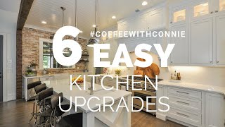 6 Easy Upgrades To Transform Your Kitchen | #CoffeeWithConnie