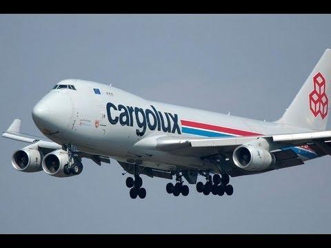 Viracopos Decolagem e Pouso Cargolux 747-400 HD