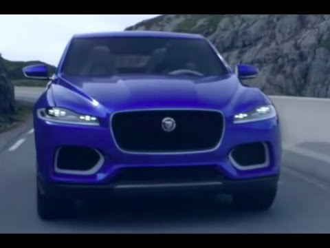 Jaguar F Pace SUV New Jaguar SUV C X17 First Commercial Carjam TV HD 2015    YouTube