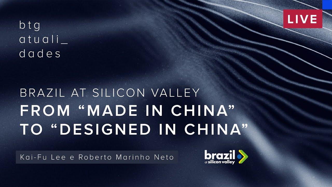 Brazil at Silicon Valley   Bate-papo entre Kai-Fu Lee e Roberto Marinho Neto