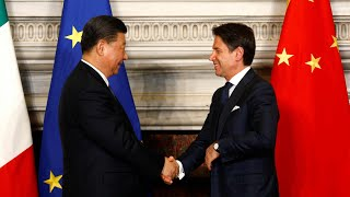 Xi, Conte hold talks on elevating China-Italy ties into new era| CCTV English