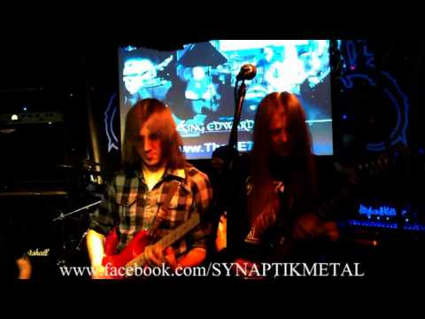 SYNAPTIK 'YOUR COLD DEAD TRACE' LIVE AT KING EDDIE JUNE 13 MELODIC PROGRESSIVE METAL THRASH DEATH