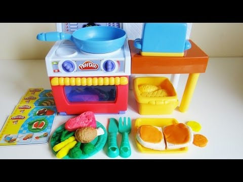 Play Doh Meal Makin Kitchen Youtube