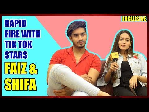 IWMBuzz: Rapid Fire with TikTok stars Faiz Baloch and Memon Shifa