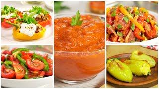 5 очень вкусных блюд из сладкого перца, которые нужно попробовать. Рецепты от Всегда Вкусно!
