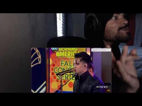Panic At The Disco - LA Devotee [LIVE GMA PERFORMANCE] REACTION!!!