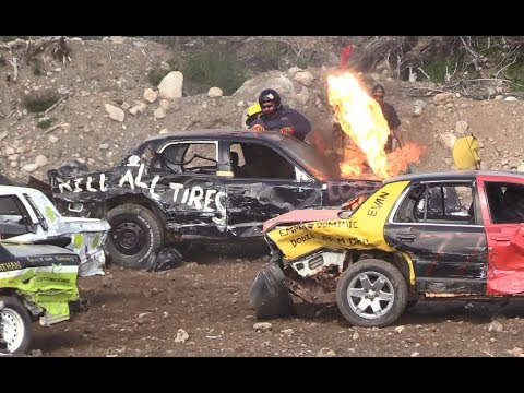 2019 Musgrave Harbour Demolition Derby - Big Car Heats