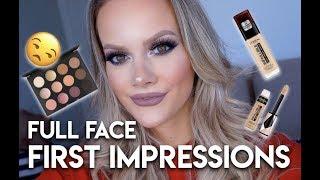FULL FACE OF FIRST IMPRESSIONS! | Allison Wilburn MUA