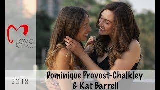 Dominique Provost-Chalkley and Kat Barrell - LOVE Fan Fest 2018 (Interview)