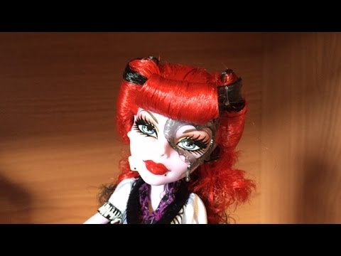 first wave monster high basic operetta doll review youtube