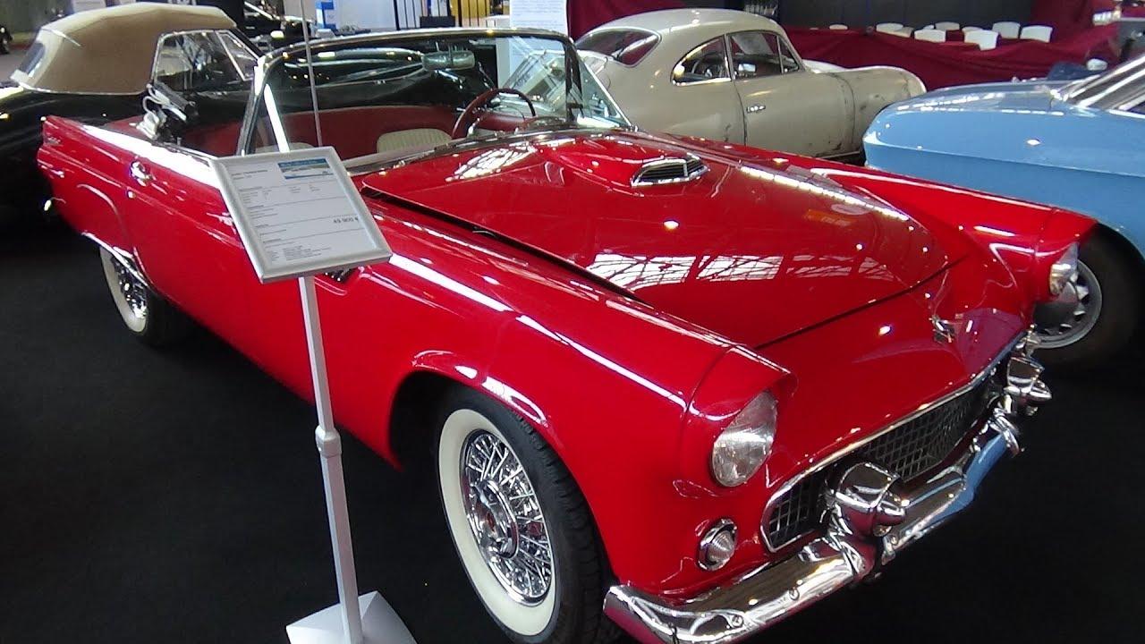 1955 Ford Thunderbird Exterior And Interior Retro Classics