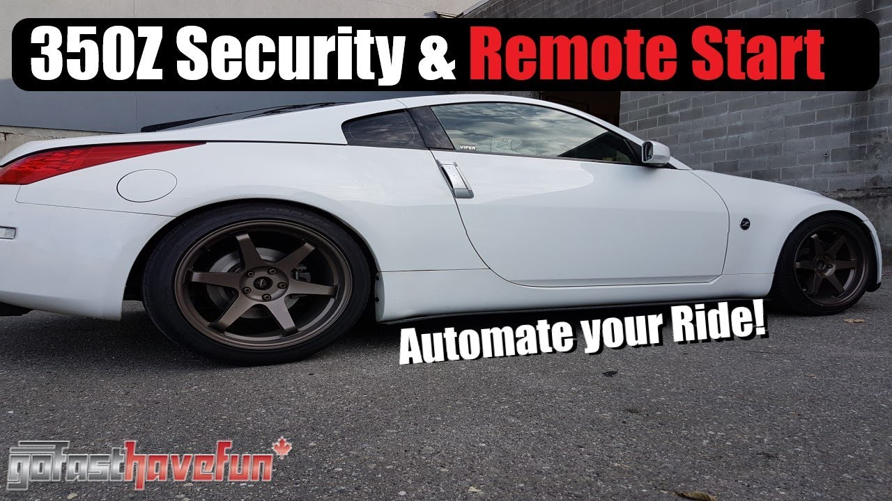 Builds Nissan 350z Viper 5806v Security System And Remote Manual Guide