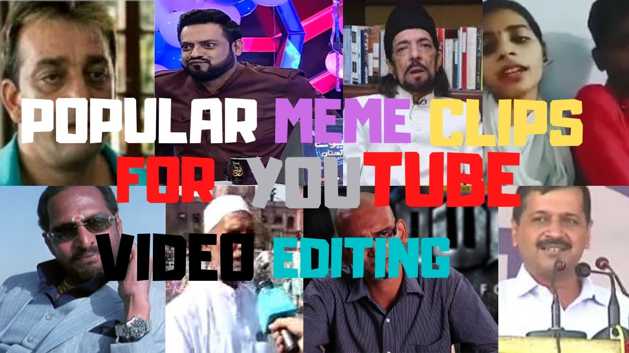POPULAR MEME CLIPS FOR YOUTUBE VIDEO EDITING(NO COPYRIGHT) | PAKISTANI AND INDIAN MEMES (PART 2)
