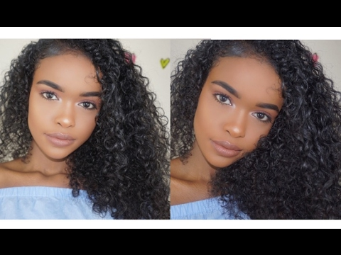 UPDATED CURLY HAIR ROUTINE! | NO FRIZZ!