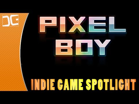 Pixel Boy - A Dungeon Crawling Top Down Action Shooter - Indie Game Spotlight