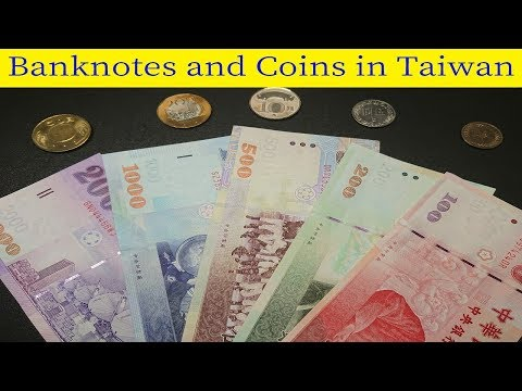 The Banknotes And Coins In Taiwan (NT Dollar)
