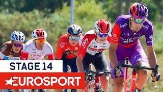 Vuelta a España 2019 | Stage 14 Highlights | Cycling | Eurosport