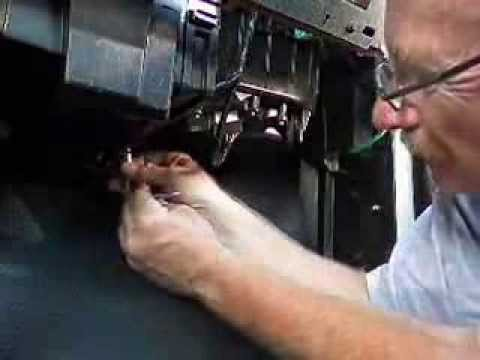 Changing the cabin air filter 2002 Silverado - YouTube
