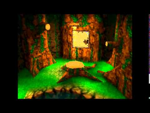 banjo kazooie click clock wood jiggy walkthrough 1
