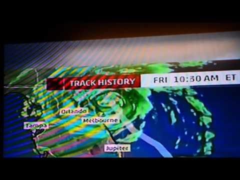 Hurricane Matthew at Jacksonville Inetrnational Airport