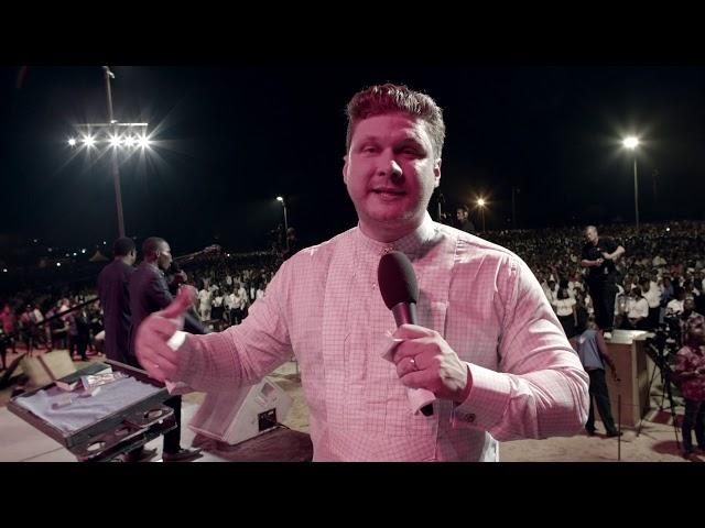 Evangelist Daniel Kolenda in Port Harcourt, Nigeria