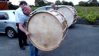 Lambeg Drumming .The Pride Of Taylorstown.11th July 2011. County Antrim. Northern Ireland.