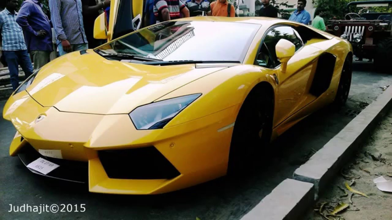Supercars Kolkata Lamborghini Aventador Judhajit Youtube