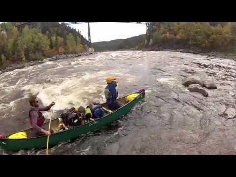 The Moisie River, Quebec-September 2012