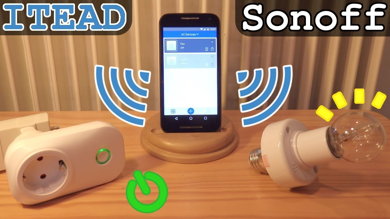 Itead Sonoff  U2022 Wi-fi Smart Socket And Lamp