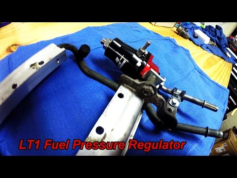Impala Project - LT1 Fuel Pressure Regulator by Aeromotive