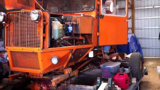 Tucker Sno-Cat Detroit Diesel 4-53T