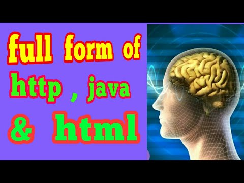 full form of java,HTML ,http ||most important full forms ...