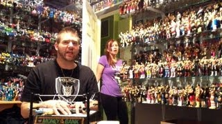 Grim's Toy Show Episode 533: Heel wife catches Grim playing w/GRIME custom wrestling action figure