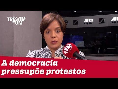 #VeraMagalhães: Bolsonaro mostra que não tem percepção do que é democracia
