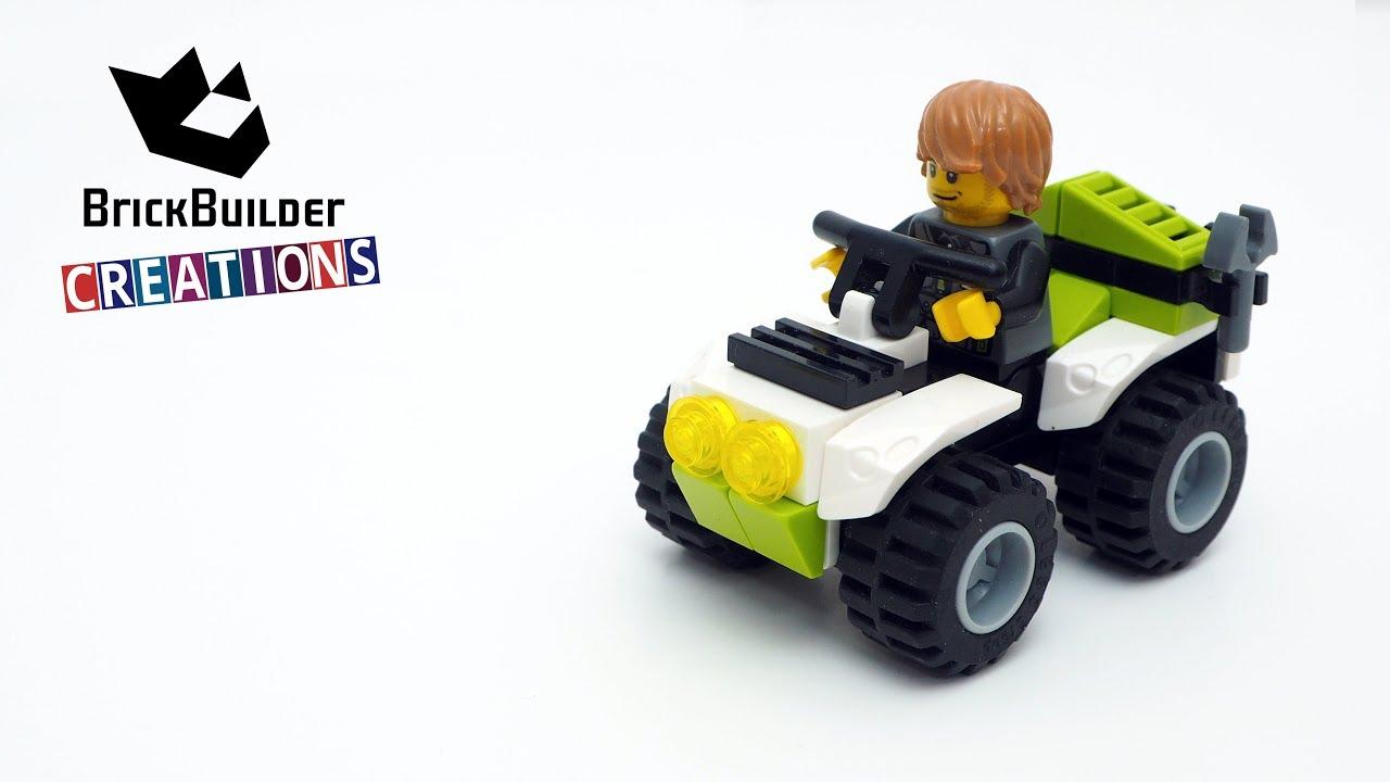 LEGO CITY MOC QUAD BIKE | 35pcs | Brick Builder Creations ...