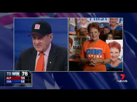 Pauline Hanson and Jeff Kennett