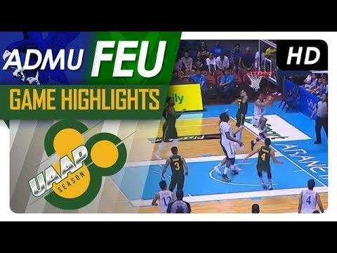 ADMU vs FEU   Final Four Game Highlights   UAAP 80 Men