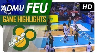 ADMU vs. FEU | Final Four Game Highlights | UAAP 80 Men's Basketball | November 19, 2017