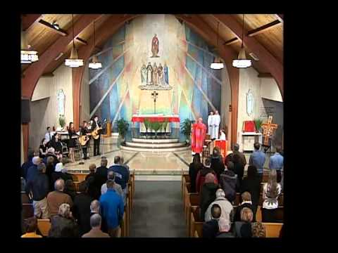 Mass For Shut Ins Palm Sunday St  Thomas Aquinas Middle School March 29, 2015