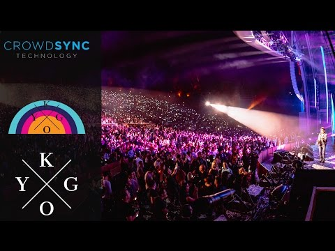 CrowdSync Technology lights up KYGO at the Hollywood Bowl with LED Wristbands