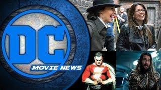 Patty Jenkins Officially on Wonder Woman 2, Aquaman Wraps this Month and More - DC Movie News
