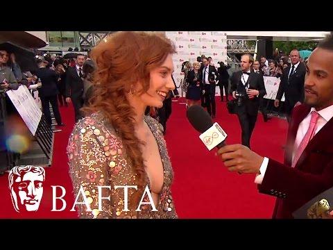Eleanor Tomlinson Red Carpet   BAFTA TV Awards 2017