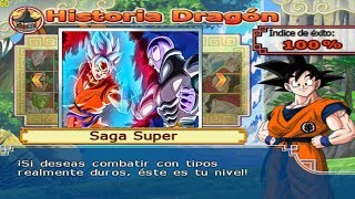 Dragon Ball Z Budokai Tenkaichi 4 -Modo historia Goku SsjBlue and KaiokenX10 VS Hit Torneo de Champa