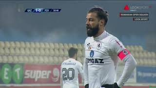 Gaz Metan - Voluntari : gol Marius Constantin din penalty ('40), 2-0 - Liga 1 Etapa 15