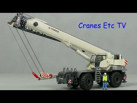 1//50 Terex RT 100 Rough Terrain Crane