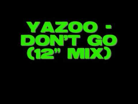 Yazoo  Dont Go 12 mix