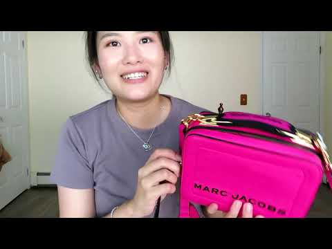 Marc Jacobs Mini Box Bag Unboxing MJ迷你饭盒包开箱 :3))