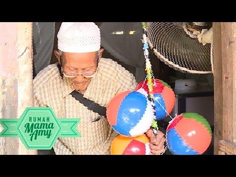 Perjuangan Sosok Kakek Berusia 1 Abad Yang Keliling Jualan Abu Gosok - Rumah Mama Amy (19/6)